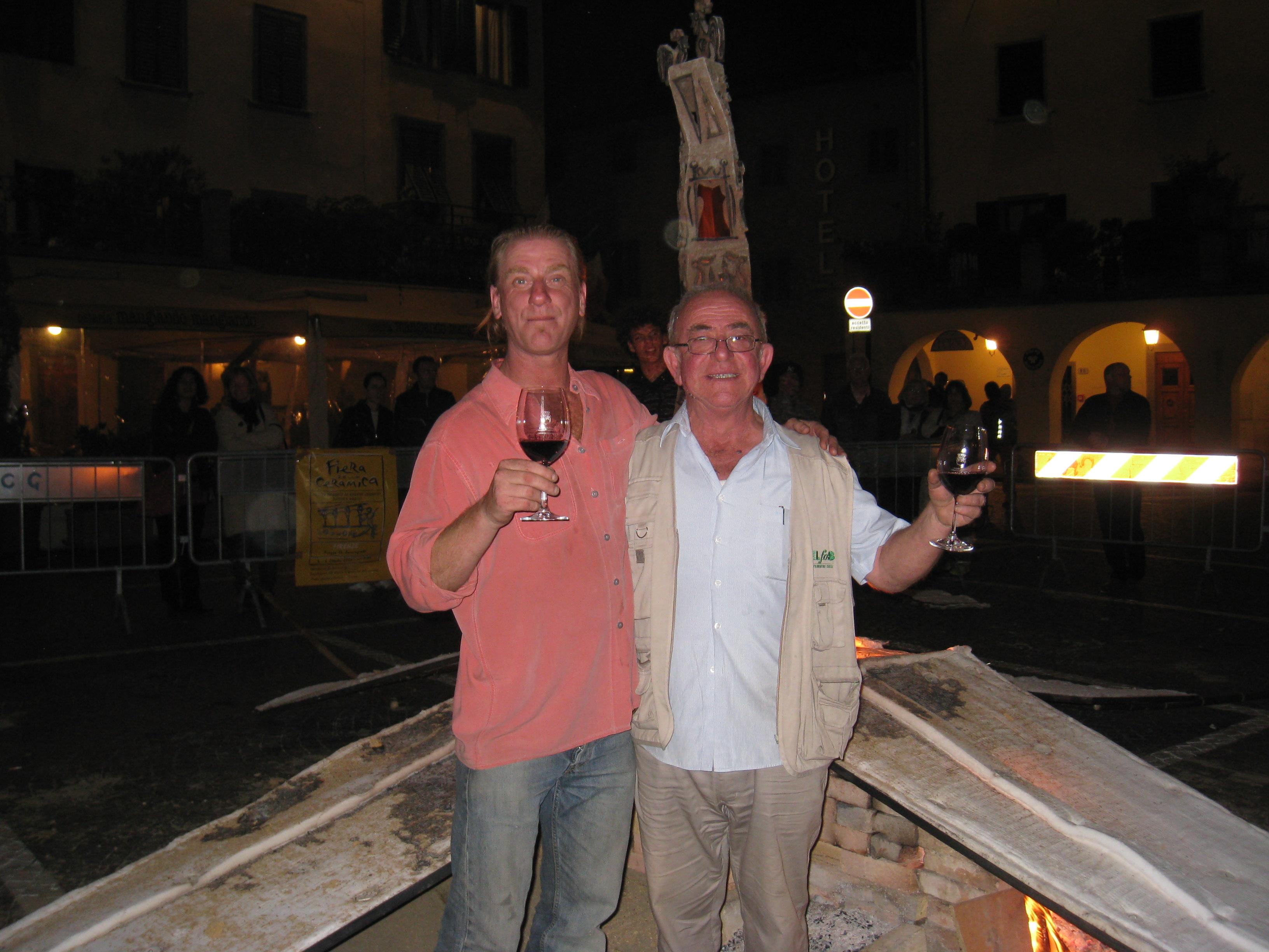 Alberto and me