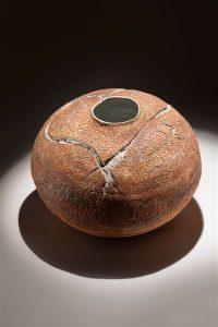 pot made for Siena exhibition Epifania del sacro nobile contrada del nicchio