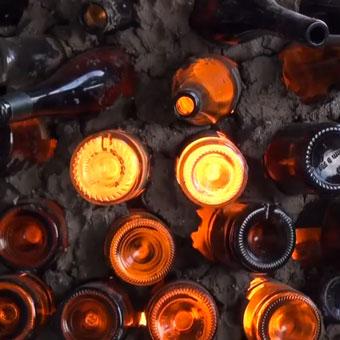 Ceramica in Celle 2012 – L'Arte del Fuoco. Glass Bottle Kiln