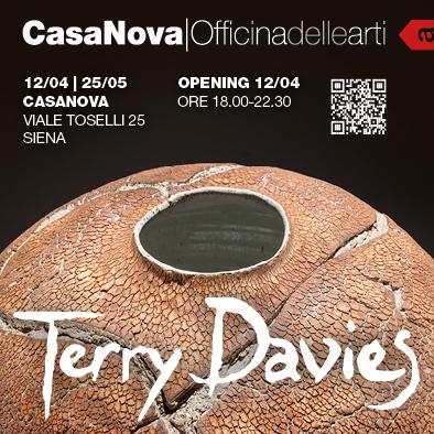 Casanova & Officina delle Arti | Viale Toselli 25 | Siena presentano: Terry Davies, Ceramiche in grès